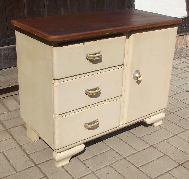 k chenschrank badschrank kommode um 1935 frankfurter k che. Black Bedroom Furniture Sets. Home Design Ideas