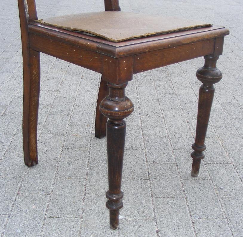 gr nderzeit stuhl muschel kr nung restaurieren 1880. Black Bedroom Furniture Sets. Home Design Ideas