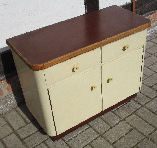 k chenschrank kommode beistellschrank frankfurter k che um. Black Bedroom Furniture Sets. Home Design Ideas