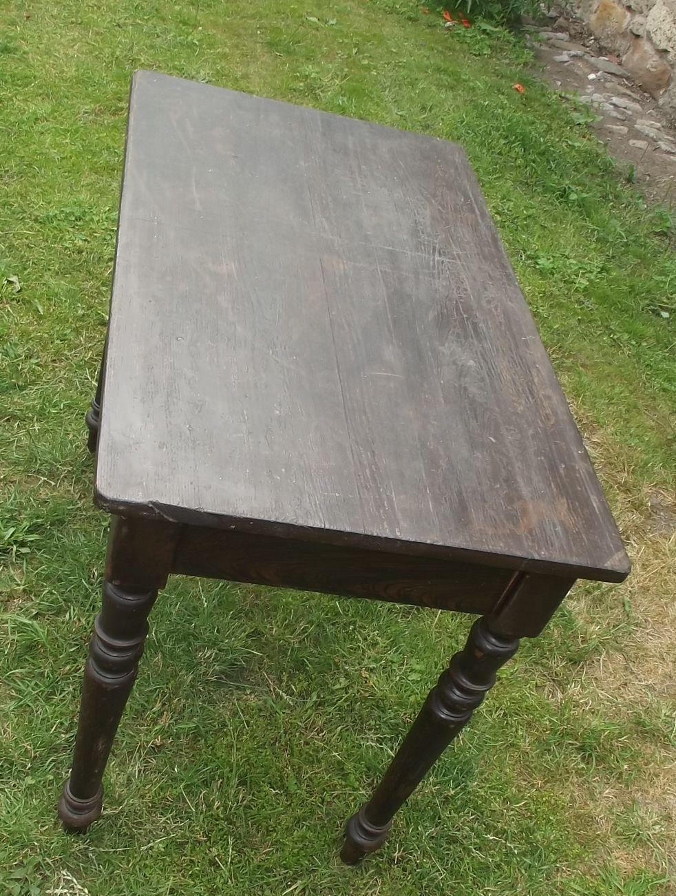 kneipentisch gr nderzeit tisch esstisch um 1880 ebay. Black Bedroom Furniture Sets. Home Design Ideas