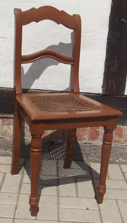 stuhl sp tes biedermeier um 1860 sitzfl che geflochten ebay. Black Bedroom Furniture Sets. Home Design Ideas