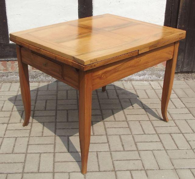 biedermeier esstisch 4 st hle restaurierter zustand helles holz um 1830 auszie ebay. Black Bedroom Furniture Sets. Home Design Ideas