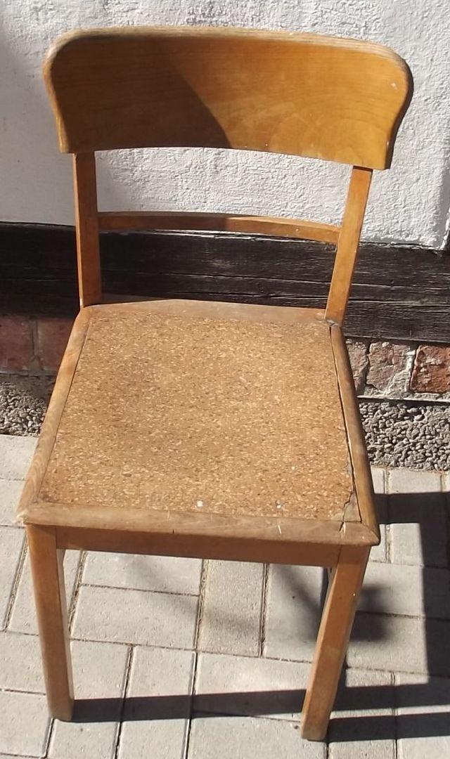 K chenstuhl stuhl frankfurter k che um 1930 neu lackieren for Stuhl lackieren