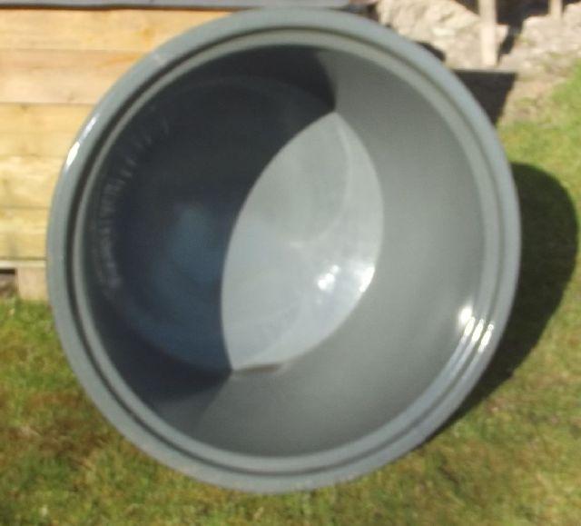neuer unbenutzter waschkessel einsatz br hkessel schlachtekessel emaille 100 l. Black Bedroom Furniture Sets. Home Design Ideas