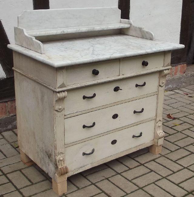 kommode antik marmorplatte inspirierendes. Black Bedroom Furniture Sets. Home Design Ideas