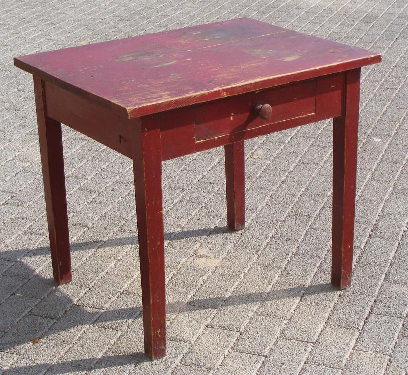 kleiner tisch mit schublade kleiner tisch mit schublade von diele und flur 1950er bei kleiner. Black Bedroom Furniture Sets. Home Design Ideas