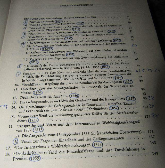 Johann Hinrich Wichern 1808 1881 Samtliche Werke In 10 Banden 1959 1980 Kompl Ebay